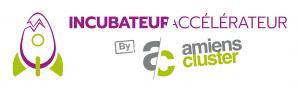 Logo incubateur accelerateur d'amiens cluster